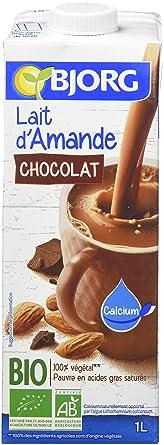 Bjorg Lait D Amande Chocolat Bio 1 L Lot De 6 Amazon Fr Epicerie