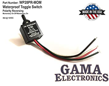 GAMA Electronics Waterproof 3 Position On-Off-On Toggle Switch Reverse on 3 position toggle switch diagram, 4 pin wiring diagram, 12v light wiring diagram, momentary contact toggle switch diagram, power window wiring diagram, 2-way toggle switch diagram, philmore on on off switch diagram, 6 pin switch diagram, 12 relay wiring diagram, 3 prong toggle switch diagram, 4 prong toggle switch diagram, 6 prong toggle switch diagram,