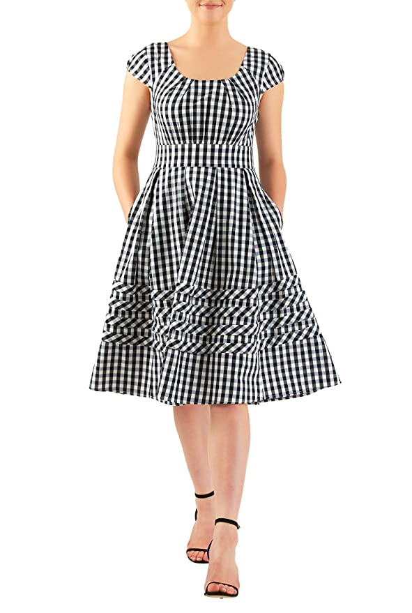 Pin Up Dresses | Pin Up Clothing eShakti Womens Chelsea dress $58.95 AT vintagedancer.com