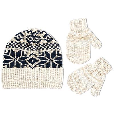 ABG Accessories Boys' Fairisle Cuffed Acrylic Knit Winter Hat