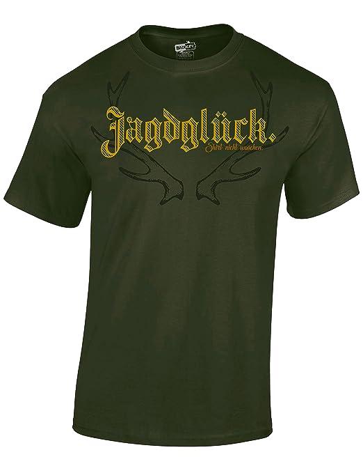 Camiseta: Jagdglück - Buena Suerte, Cazador/T-Shirt en ...