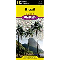 Brazil (National Geographic Adventure Map, 3401)