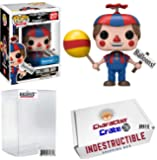 Funko Pop! Five Night At Freddy's Balloon Boy, Walmart Exclusive, Concierge Collector Grade Bundle Vinyl Figure