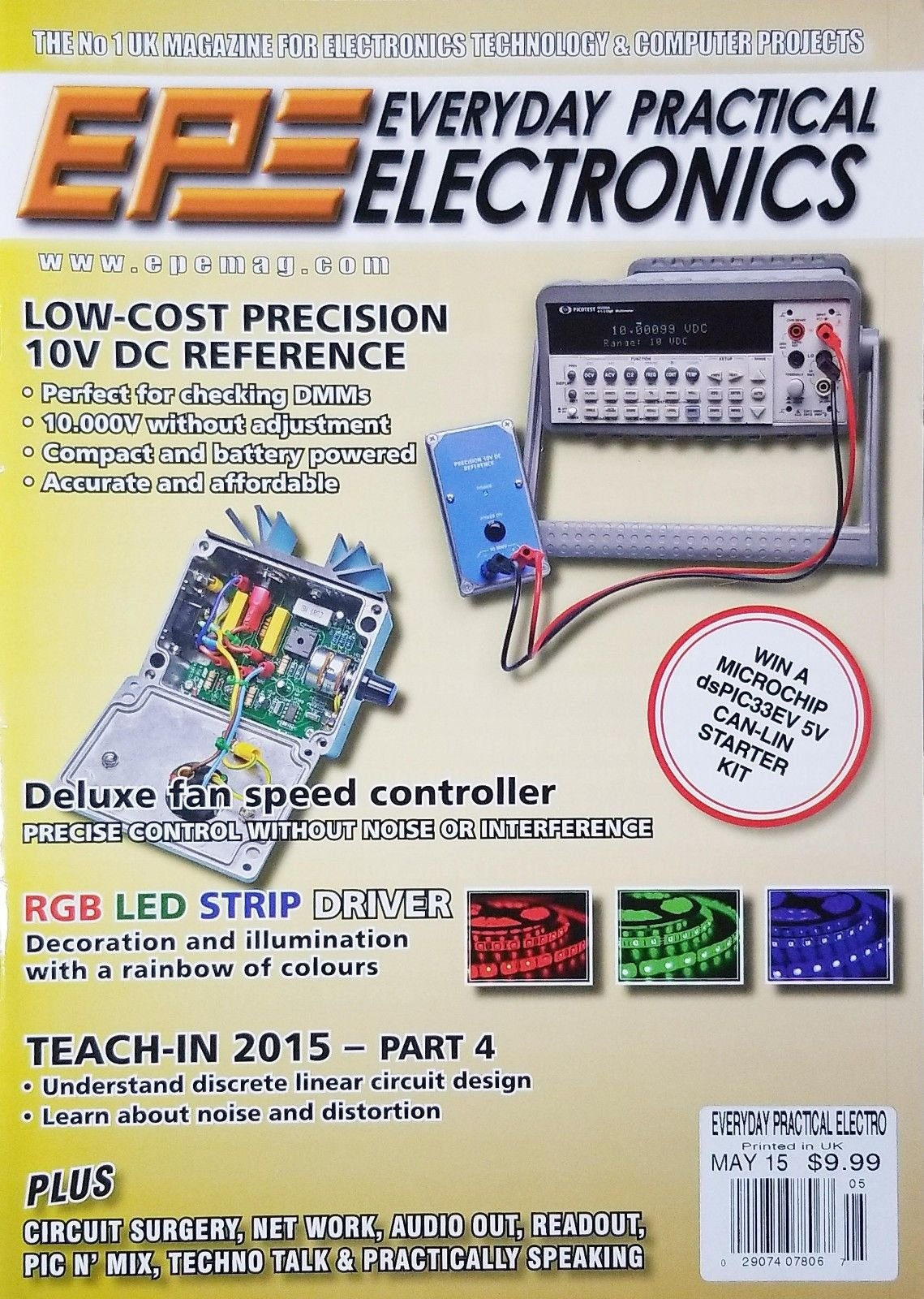 EPE EVERYDAY PRACTICAL ELECTRONICS, MAY 2015 PRINTED IN UK^
