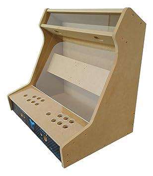 Talentec Bartop Kit 24 In Mdf Wood Acrylic Glass For Amazon Co