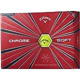 Callaway(キャロウェイ) ゴルフボール CHROME SOFT 2018年モデル 1ダース(12個入り) 6421255122044
