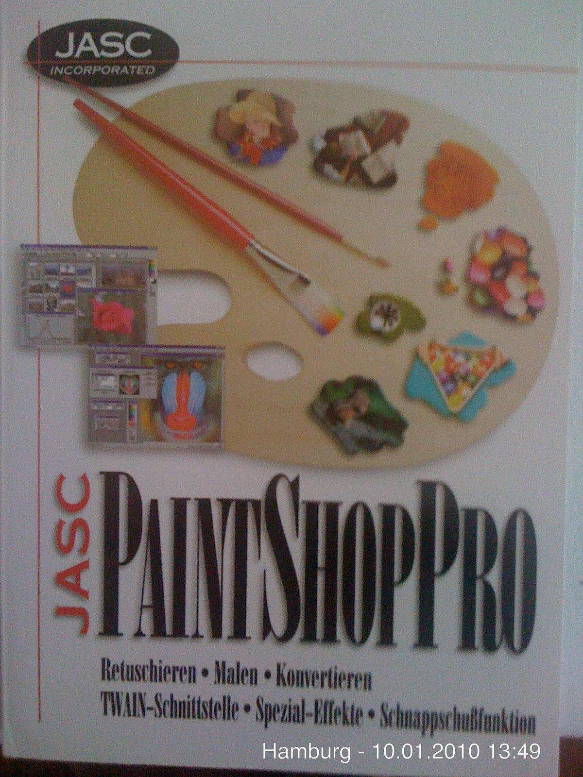 JASC Paintshop Pro Unbekannter Einband – 2012 3927625159