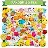 Amazon Price History for:WATINC Random 20 pcs Squishies Cream Scented Slow Rising Kawaii Simulation Lovely Toy Medium Mini Soft Food squishies, Phone Straps (20P Donuts)