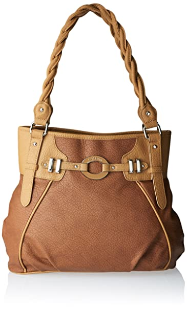 Rosetti Power Play Deedee 2T Shoulder Bag, Chestnut, One Size