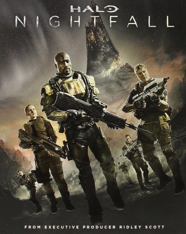Halo Nightfall Blu Ray Mike Colter Christina Chong Steve Waddington Sergio Mimica Gezzan Movies Tv