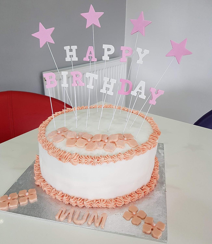 Lming 17 Zahlt Alles Gute Zum Geburtstag Kuchen Dekorieren Topper