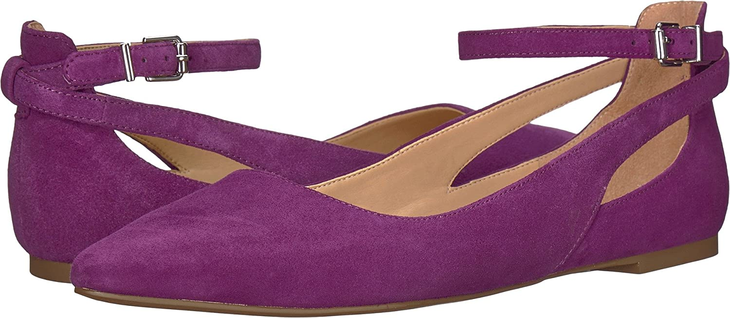 Franco Sarto Women's Sylvia Ballet Flat B076BSLWC5 7 B(M) US|Grape