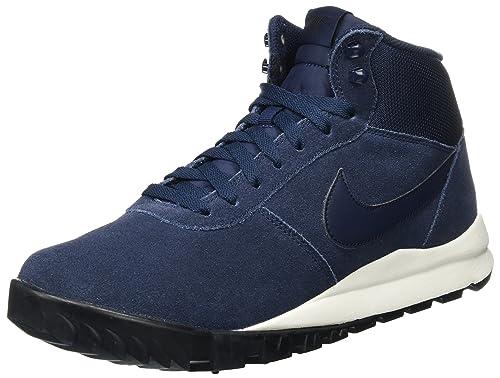 c87b132dc7 Nike - Hoodland Suede - 654888400 - Color  Black-Navy blue-White - Size   7.0  Amazon.ca  Shoes   Handbags