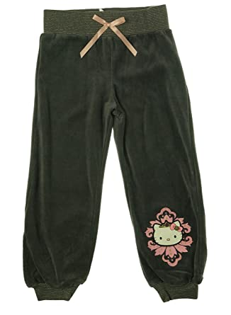 79a8d23b5 Image Unavailable. Image not available for. Color: Hello Kitty Little  Girl's Jogger Pants ...
