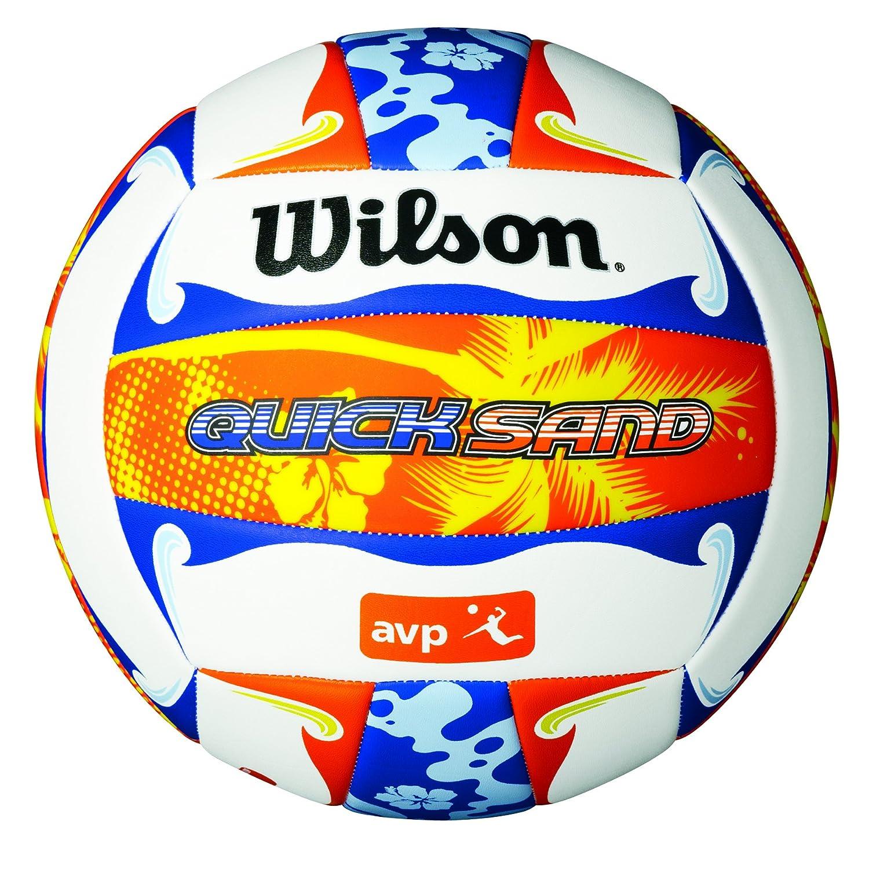 Wilson AVP Quicksand Aloha Cobertura, Blanco/Azul/Naranja, 7 ...