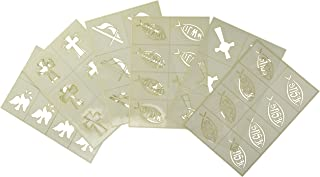 product image for BADGER Totally Tattoo Body Art Stencils Religious Theme Pack