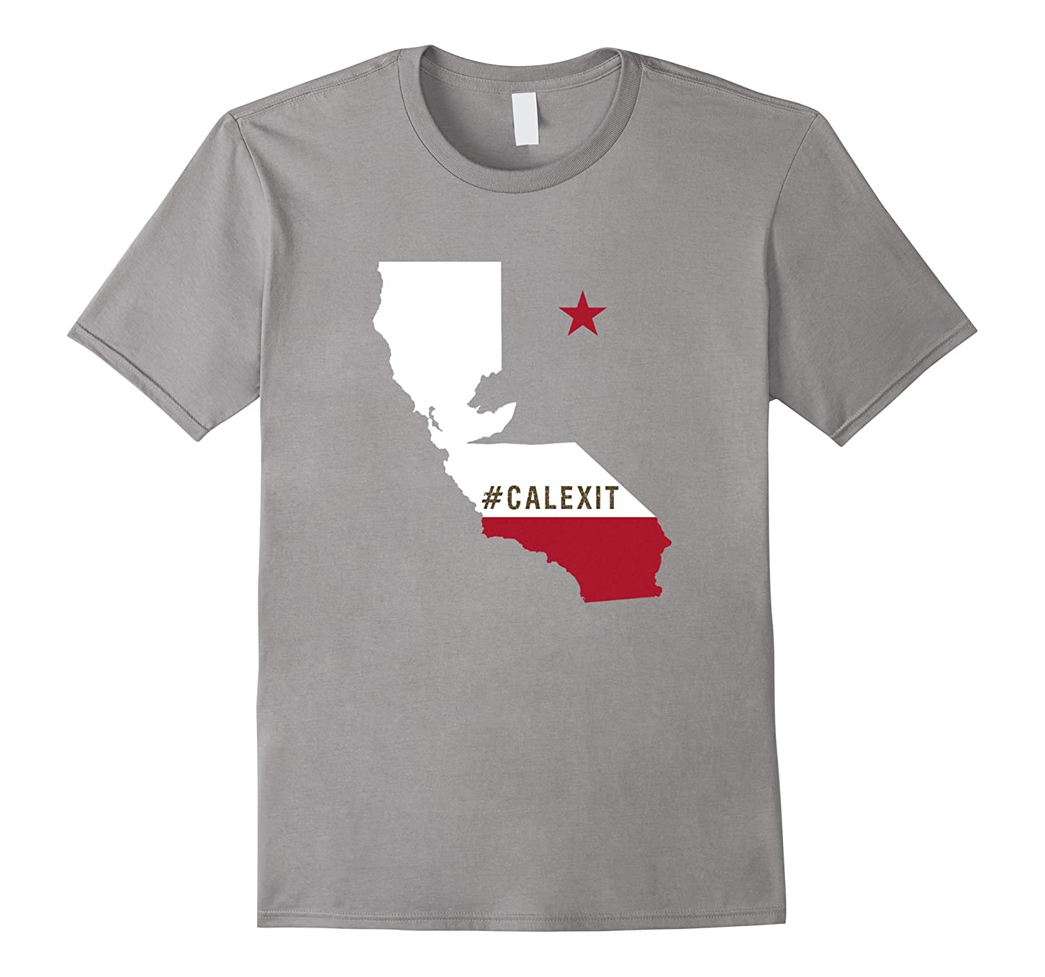 #CalExit Hashtag California Exit Secession USA Protest Tee-CL