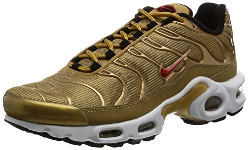 finest selection cf98d 5bc39 Nike Women's WMNS Air Max Plus QS, Metallic Gold ...