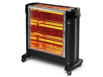 Halógeno con 3 barras infrarrojos 2700W con gran potencia de calor HEATY 2861 Purline: Amazon.es: Hogar