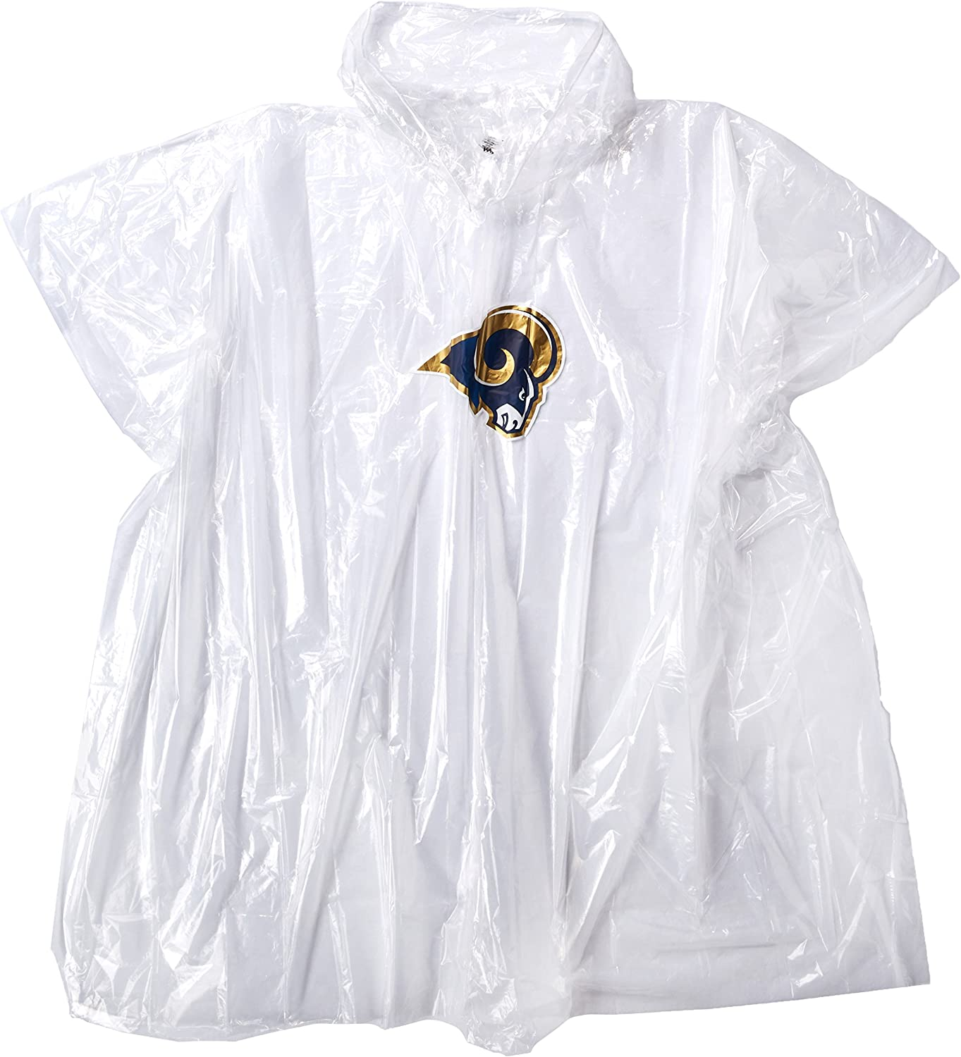 44 x 49 NFL Los Angeles Rams Lightweight Poncho