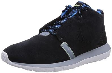 Nike Roshe Run, Baskets mode homme - Noir (Black/New Slate/Magnet Grey 001), 42 EU
