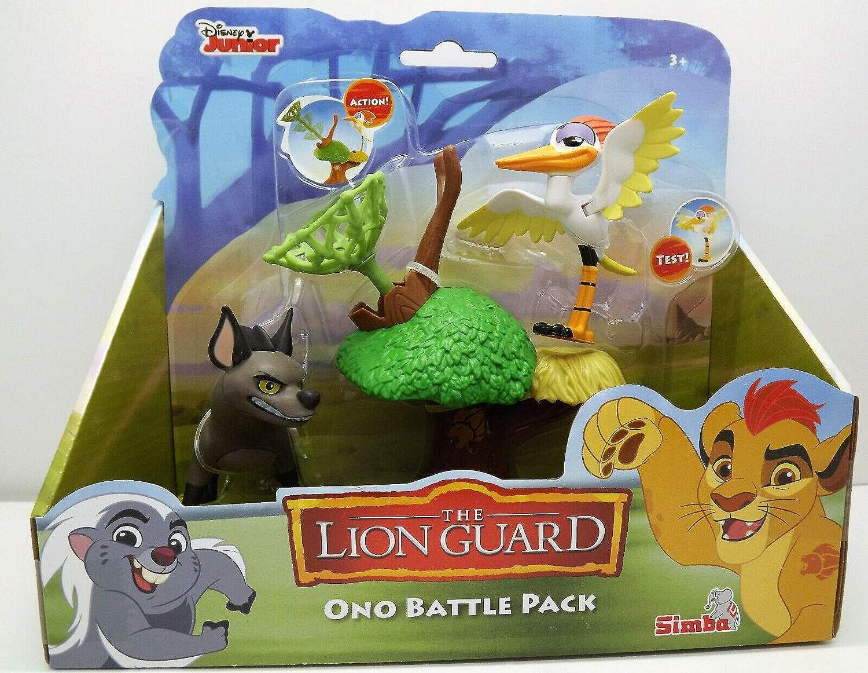 neuf jouet disney junior the lion guard le roi lion battle pack 2 figurines