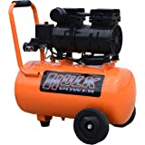 EMAX Compressor HP01P006SS HULK 1Hp Silent Air Portable Compressor, 120 Psi, 6 gallon