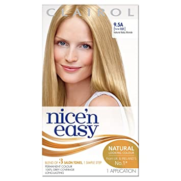 Amazon.com : Clairol Nice \'n\' Easy Permanent Hair Colour 101 Natural ...