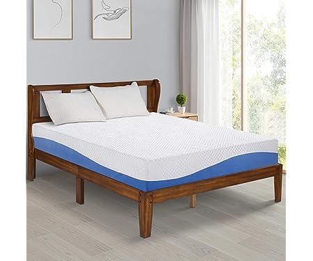 Olee Sleep 10 Inch Gel Infused Layer Top Memory Foam Mattress