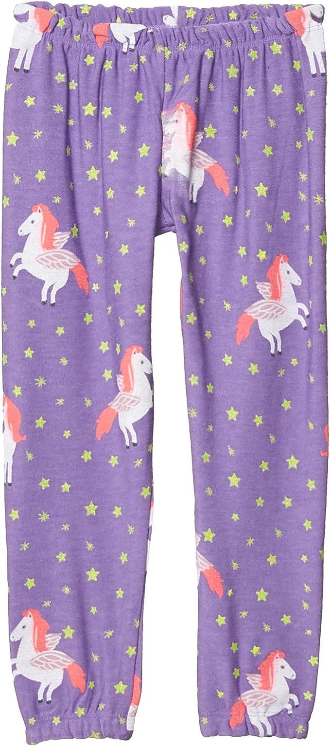 Chaser Kids Girls Unicorn Dream Cozy Knit Lounge Pants Big Kids