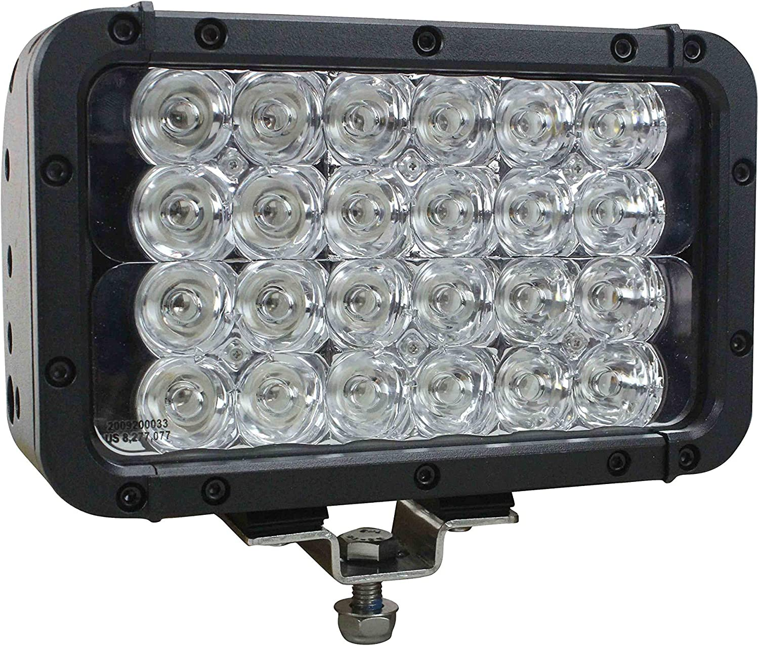 4 Through 24 LEDs Replacement Polycarbonate Lens for The LEDLB Series