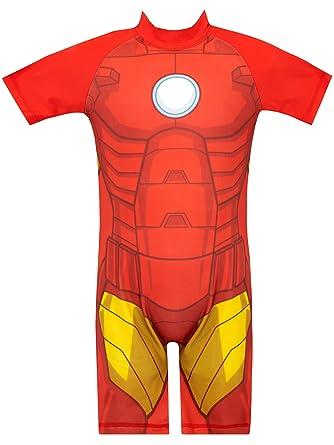 Marvel Bañador para Niño Iron Man