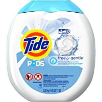 Tide PODS Free & Gentle HE Turbo Laundry Detergent Pacs Tub 81-load Tub
