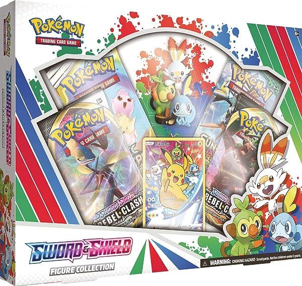 Pokemon Trading Card Game Sword and Shield Figure Box