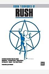Drum Techniques of Rush: Drum Transcriptions Paperback