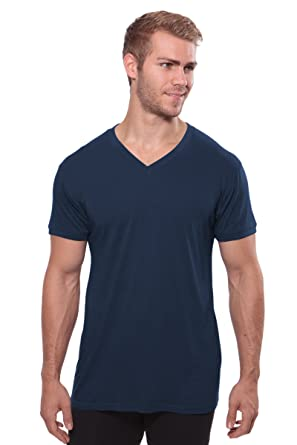 Texere Men's V-Neck Undershirt (Single Pack) Eco-Friendly Gifts at ...