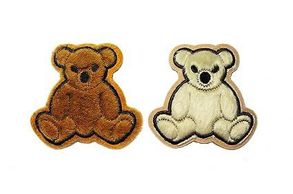 Zdbjj fuzzy teddy bear applique single designs by juju