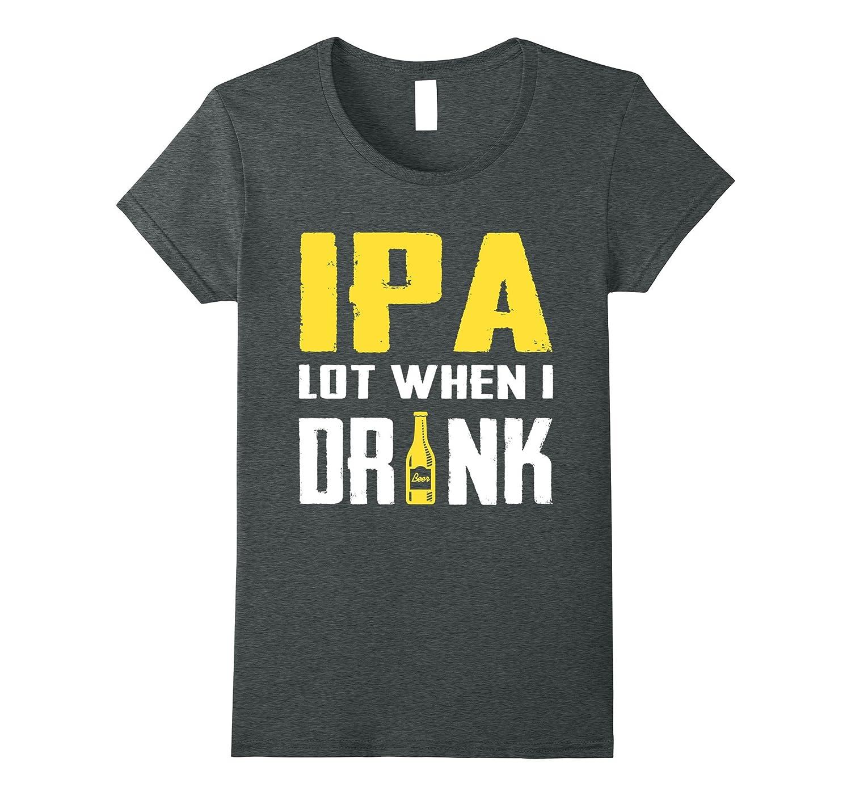 Mens when drink t shirt Heather-Awarplus