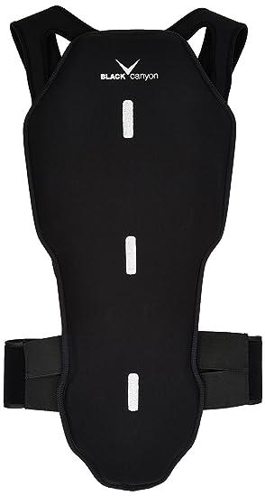 Black Canyon - Protector de espalda para adultos y niños negro negro/plata Talla: