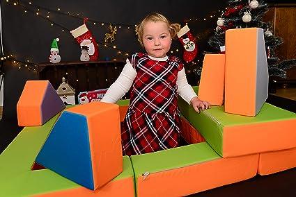 Letto Futon Bimbi : Bambini divano letto futon bambini puzzle orange green amazon