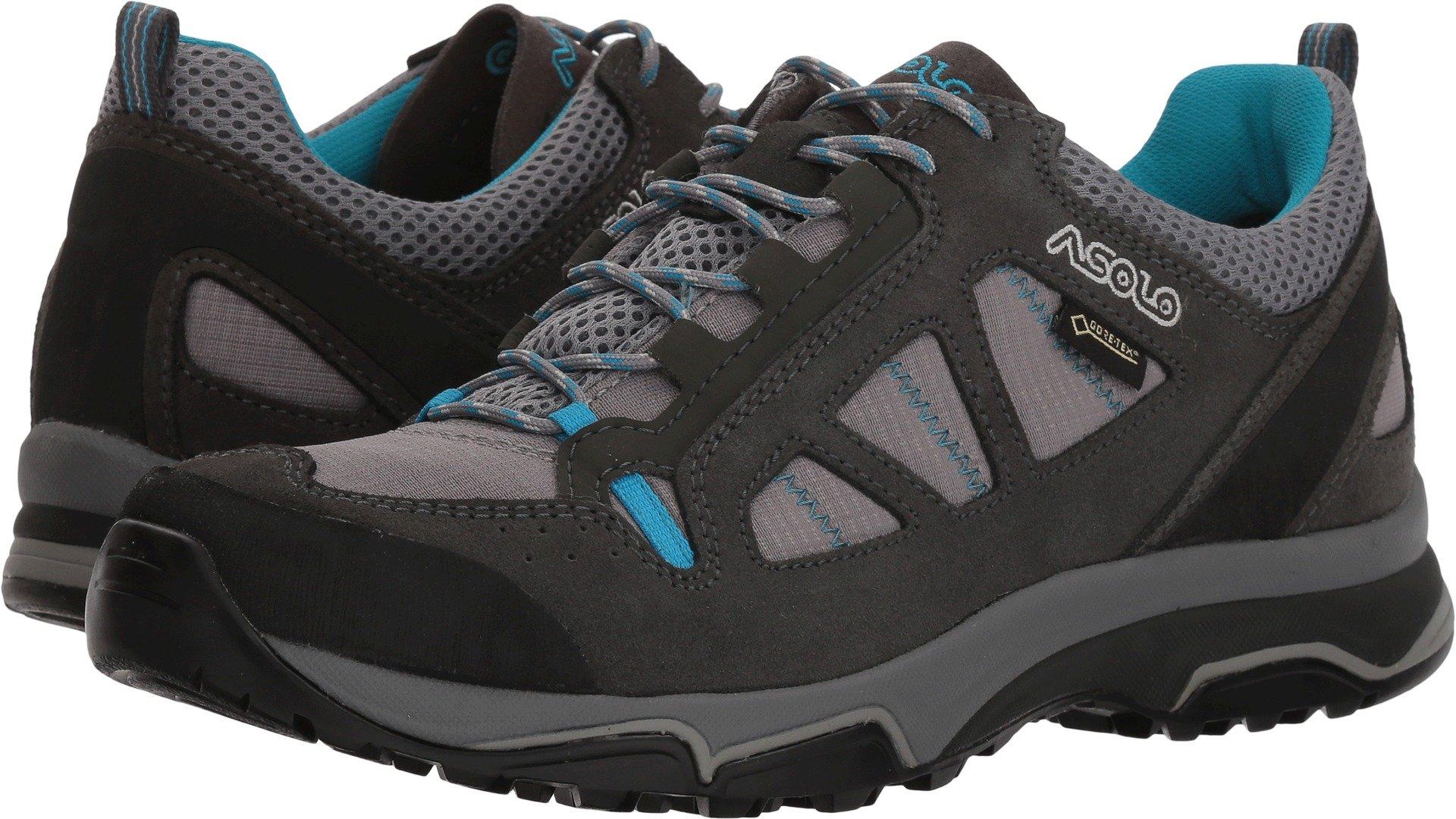 Asolo Women's Megaton GV Hiking Shoe Graphite Stone/Cyan Blue - 7.5 by Asolo (Image #1)