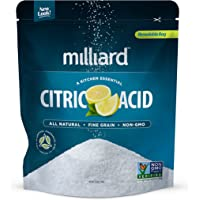 Milliard 100% Pure Food Grade Citric Acid – 2¼ kg. Bag (5 lbs.)