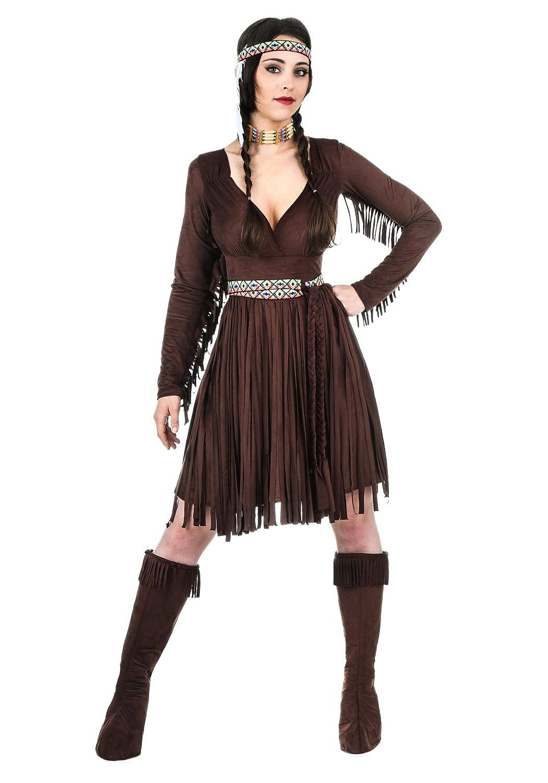 Plus Size Women's Native American Dress 3X