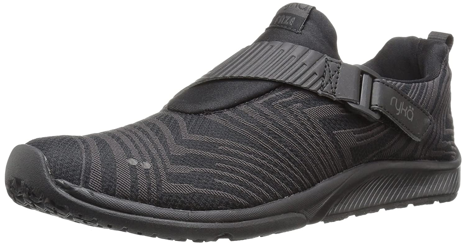 Ryka Women's Faze Cross-Trainer Shoe B0721L1ML7 6.5 B(M) US|Black/Black