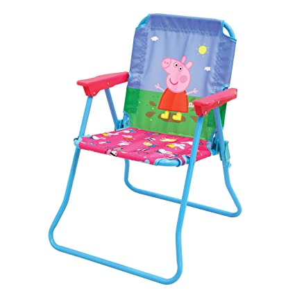Miraculous Peppa Pig Patio Chair For Kids Portable Folding Lawn Chair Onthecornerstone Fun Painted Chair Ideas Images Onthecornerstoneorg