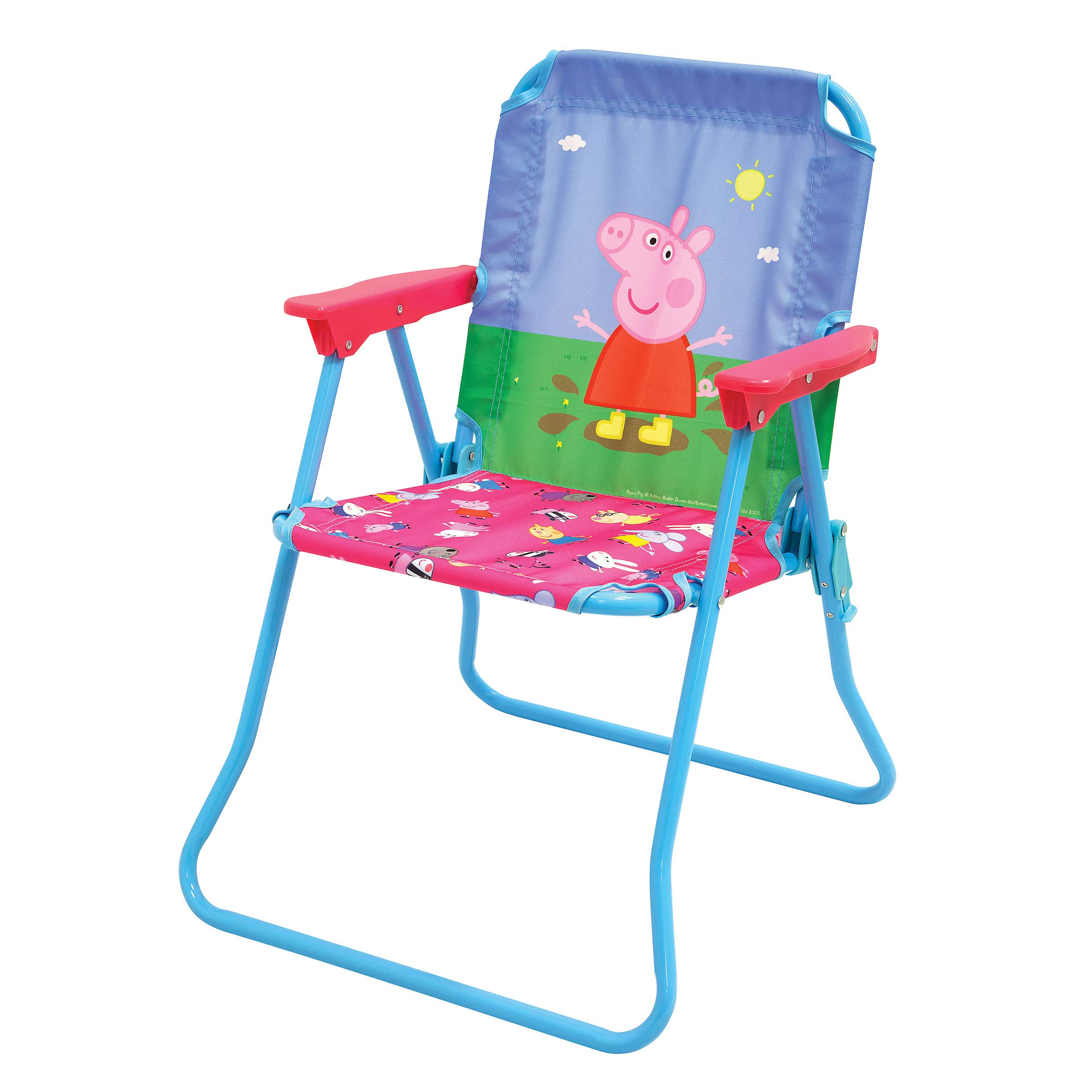 Peppa Pig Patio Chair for Kids, Portable Folding Lawn Chair