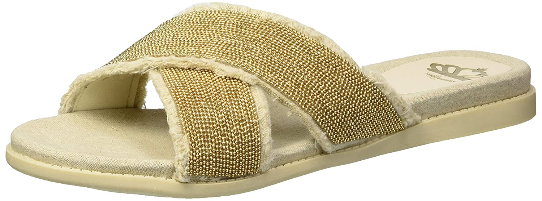 Fergalicious Women's Zena Slide Sandal B079MBB4SB 10 B(M) US|Natural