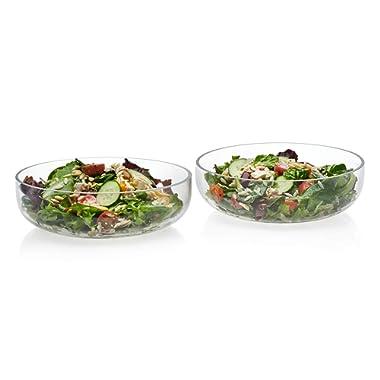 Prologue Handmade Glass Serving Bowls, Medium, Set of 2