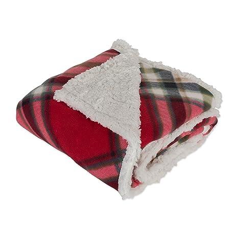 888cb58fd1 Sherpa Fleece Throw Blanket 50x60 quot
