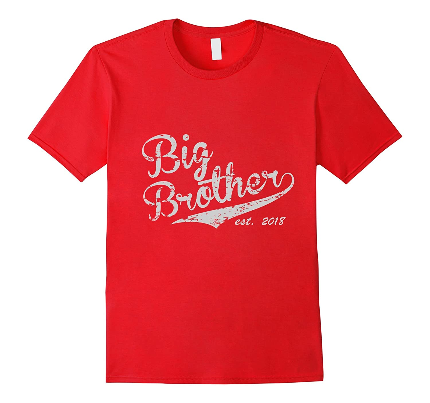 Big Brother Est. 2018 Vintage Style Tee - Adult & Youth Size-Art